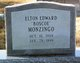 """Elton Edward """"Boscoe"""" Monzingo"""