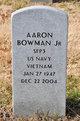 Profile photo:  Aaron Bowman, Jr