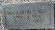 Profile photo: Rev Aaron L Key