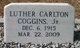 Rev Luther Carlton Coggins, Jr