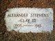 Profile photo:  Alexander Stephens Clay, III