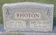 Mary Elma <I>Bryant</I> Rhoton
