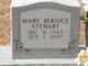 Mary Bernice <I>Spitdowski</I> Stewart