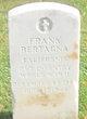 """Frank """" """" <I> </I> Bertagna,"""