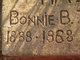 Bonnie Bell <I>Hamlett</I> Hall