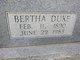 Bertha <I>Duke</I> Heaton