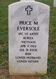 Price M Eversole