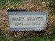 "Mary ""Minnie"" <I>Kinnease</I> Shaver"