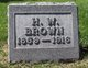Henry Ward Brown