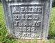 Abigale <I>James</I> Paine