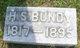 Hezekiah Sanford Bundy