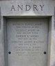 Profile photo:  Allain C. Andry, Sr