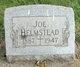 Profile photo:  Joe Helmstead