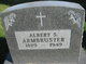 Profile photo:  Albert S. Armbruster