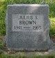 Julious Sanford Brown