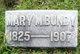 Mary <I>Miller</I> Bundy