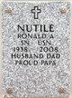 Ronald Anthony Nutile, Sr