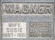 "Susan Celia ""Susie"" <I>Sutter</I> Wagner"
