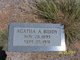 Profile photo:  Agatha A. <I>McDaniel</I> Biddy