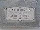 Profile photo:  Catherine Freda <I>Stewart</I> Ashburn