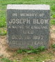 "Profile photo:  Joseph ""Joe"" Blow"