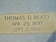 "Thomas David ""Dave"" Beaty"