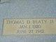 "Thomas David ""T. D."" Beaty, Jr"