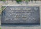 Profile photo:  William Adams