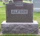 Profile photo:  Alfred Alfson