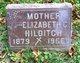 """Profile photo:  Elizabeth """"Eliza"""" <I>Hebburn</I> Hilditch"""