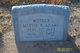 Profile photo:  Mattie Bee <I>McCutchan</I> Adams