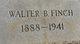 Walter B. Finch