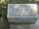 Myrtie Alice <I>Scism</I> Sackett