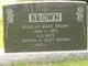 Profile photo:  Bertha Augusta <I>Rust</I> Brown