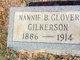 Profile photo:  Nannie B. <I>Glover</I> Gilkerson
