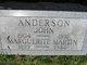 Marguerite <I>Martin</I> Anderson