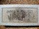 Janie W Mulkey