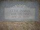 Ettie Phillip <I>Lee</I> Inman