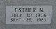 Esther N Hobdy