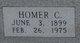 Homer C Hobdy