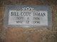 Bill Cody Inman