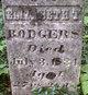 Elizabeth T <I>Taylor</I> Rodgers