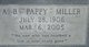 """A B """"Pappy"""" Miller"""
