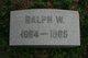 Ralph Waldron Ackerman