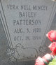 Vera Nell Bailey <I>Mincey</I> Patterson
