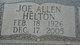 Joe Allen Helton