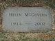 Helen <I>Hollers</I> McGovern