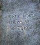 Profile photo:  Albert L. Hadden