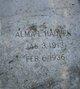 Profile photo:  Alma L. Hadden