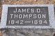 James D Thompson